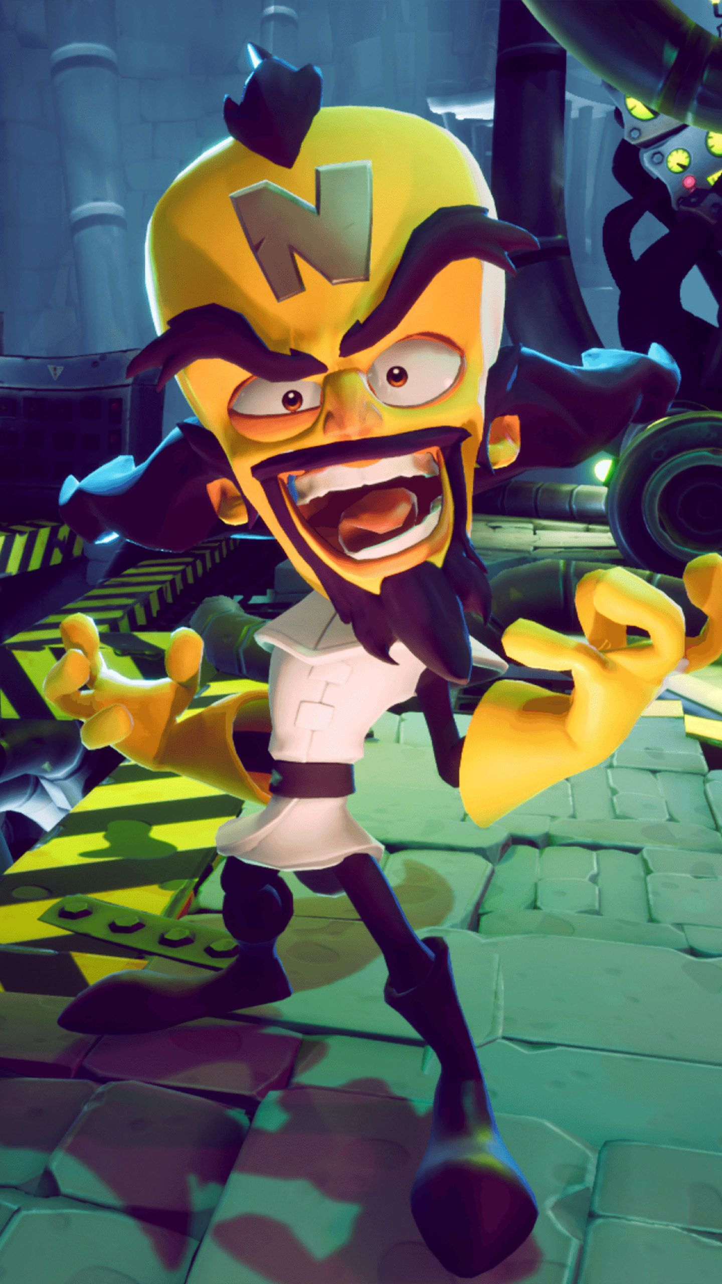 Doctor neo cortex in crash bandicoot 4 its about time 4k