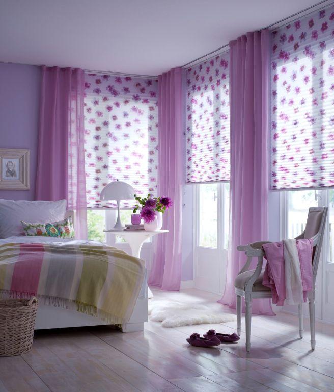 duftig leichte plissestoffe auch f r kinderzimmer bad k che kreative design ideen pinterest. Black Bedroom Furniture Sets. Home Design Ideas