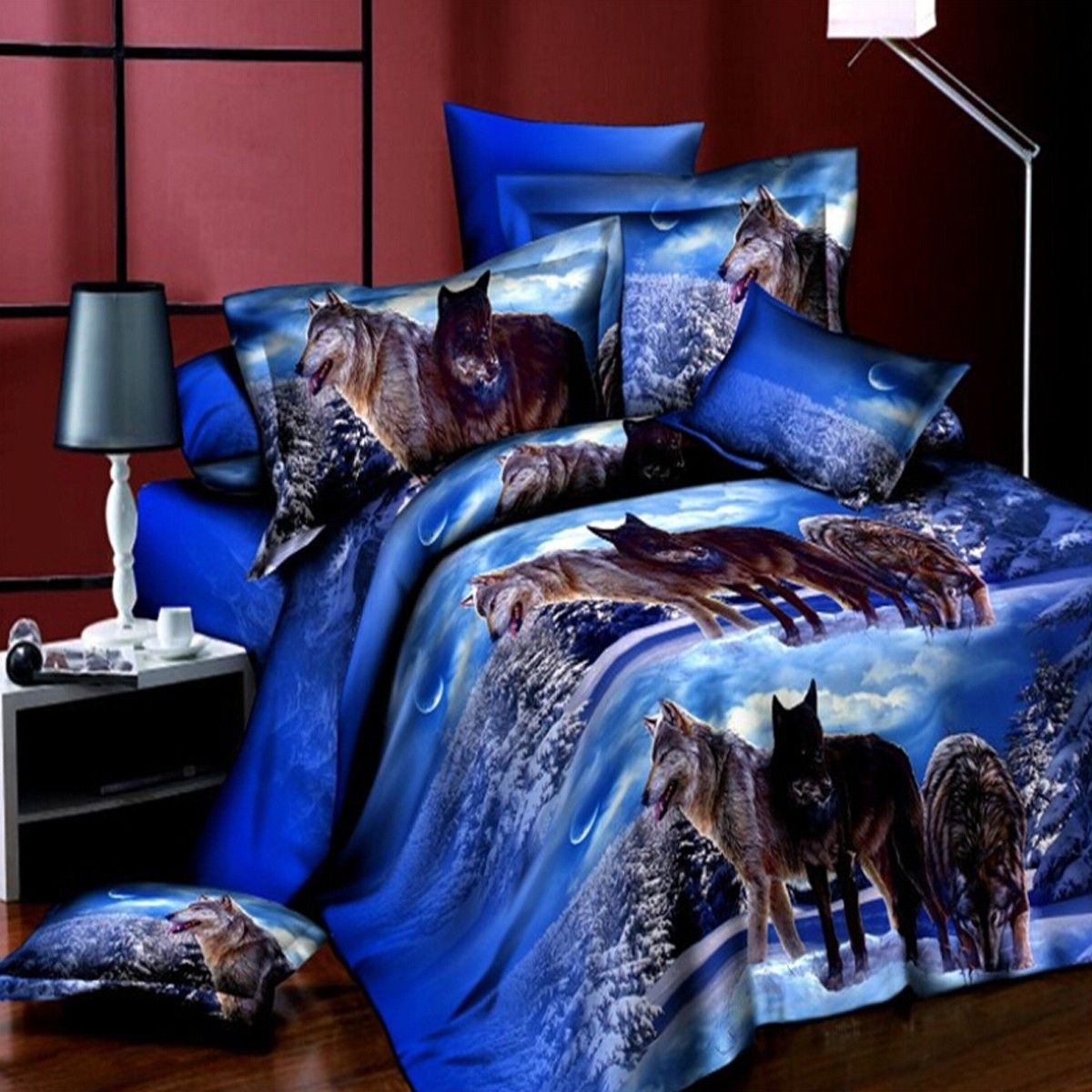 new floral bedding sets full size duvet cover bed sheet pillowcase bedclothes