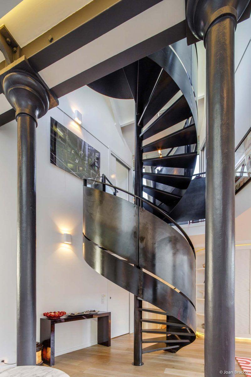 Loft dans une ancienne fonderie à Paris par Vincent Eschalier ...