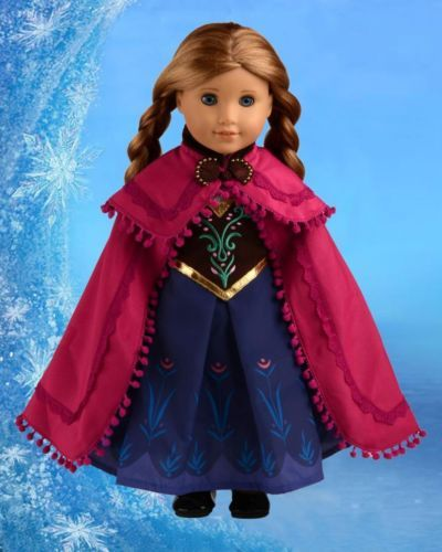 Anna costume for AG doll on ebay.