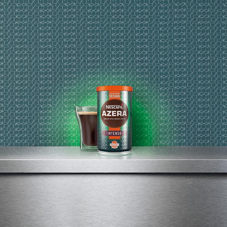 Our Campaigns Nescafe azera, Caffeine molecule, Coffee
