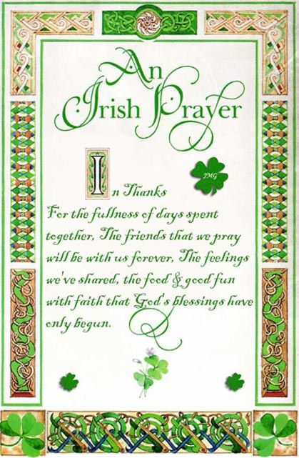 Pin By Clare Anderson On Irish Blessings Irish Prayer Irish Quotes Irish