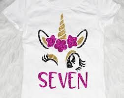 Image Result For Shirts 7 Year Old Birthday Girl