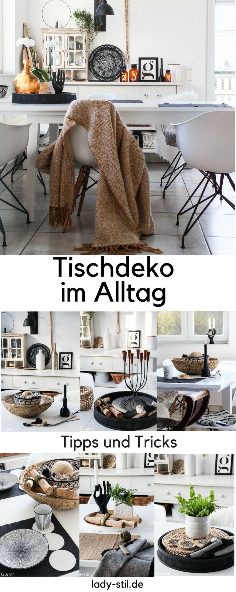 Der Neue Tischdekoration Im Alltag Diy Platzdeckchen Lady Stil