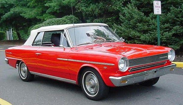 1964 Rambler American 440 Convertible Red Nj American Motors