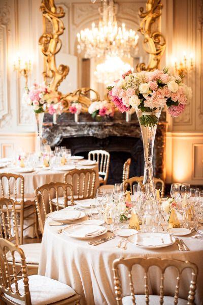 Romantic Paris Summer Wedding Parisian Wedding Theme Parisian Wedding Paris Wedding