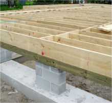 Your Foundation Matters Raised Floor Living House Foundation Building Foundation Framing Construction