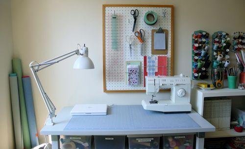 WREN handmade: March 2009, craft room