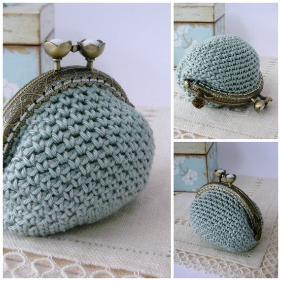 PATTERN Crochet Coin Purse {Model nº 14} | Pinterest | Fotografia de ...