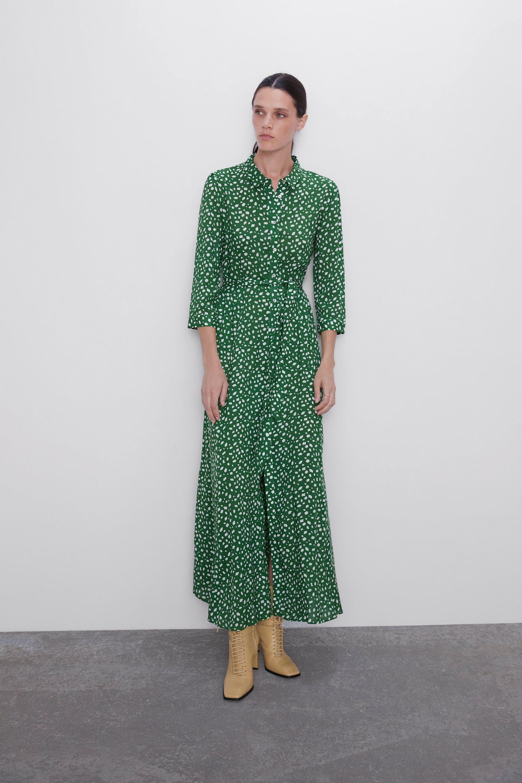 Long Printed Dress Maxi Dresses Woman Zara Australia Printed Long Dresses Dresses Womens Maxi Dresses