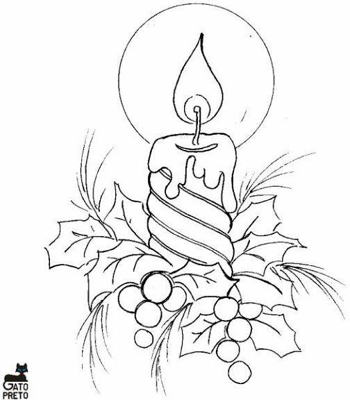 Dibujos navide os para colorear phafan kormanee - Dibujos navidenos para pintar en tela ...