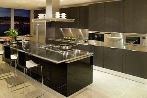 diseño cocina moderna | Cocinas | Pinterest | Cocinas modernas, Isla ...