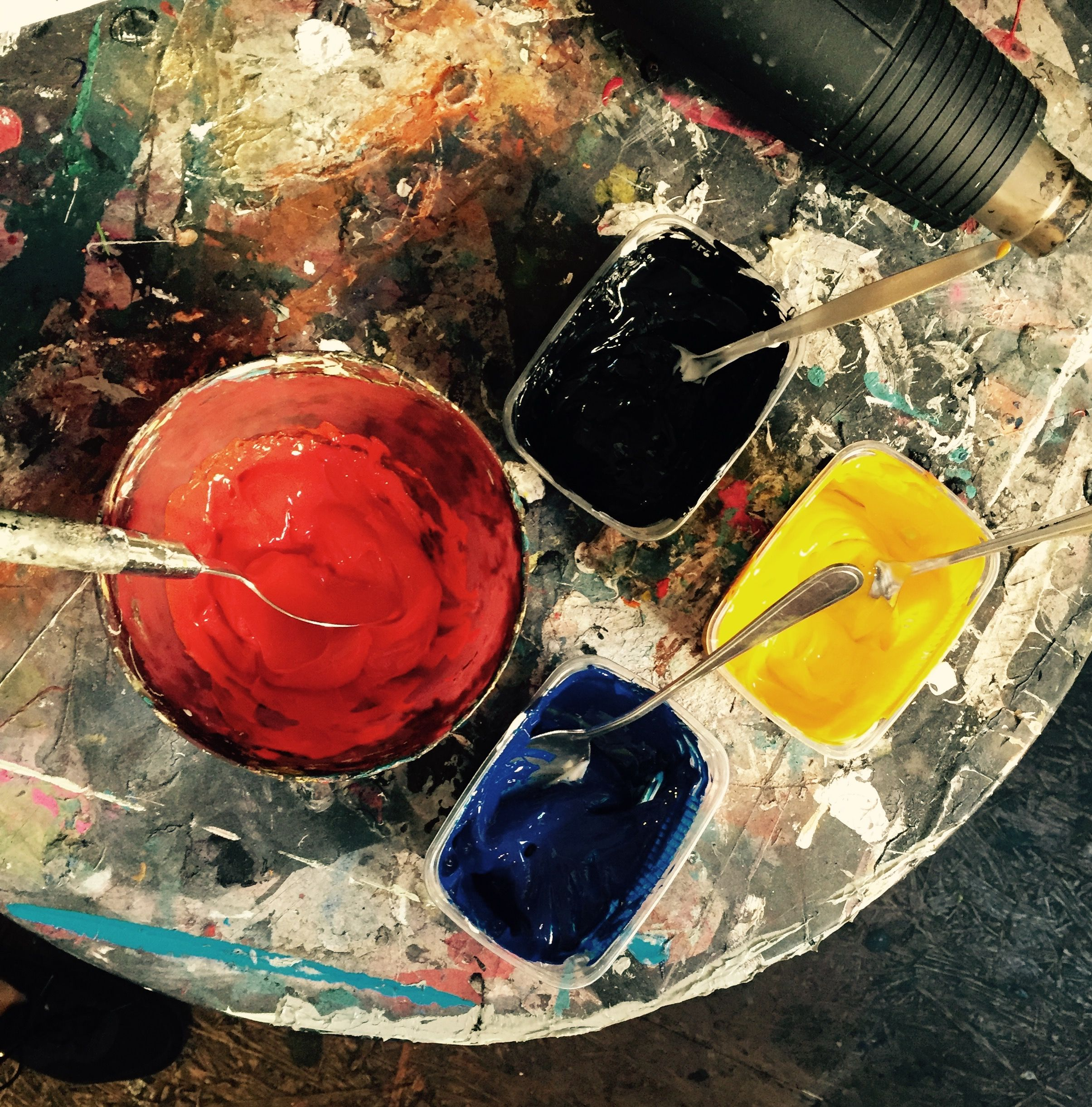 Siebdruck #Farbe #berlin #handmade #workinprogress