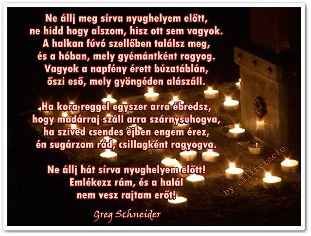 mindenszenteki idézetek képekkel Mindenszentek, Halottak Napja, gyász, gyertyák, mécsesek