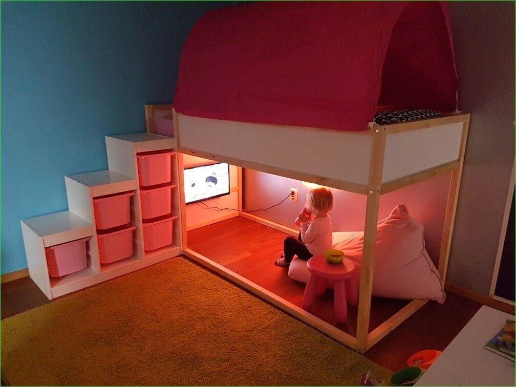 39 Affordable IKEA Kura Beds Kids Room Ideas images