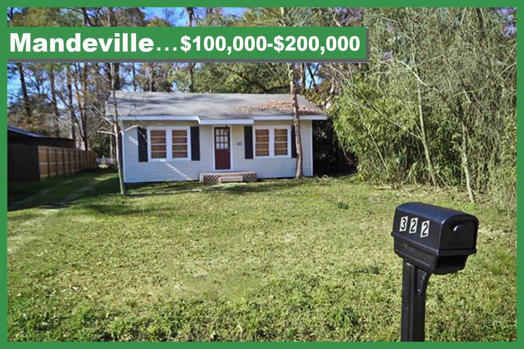 Mandeville Louisiana Real Estate 100 000 200 000 St Tammany Homes Patio Homes Condos Townhouses And Mo La Real Estate Real Estate Real Estate Listings