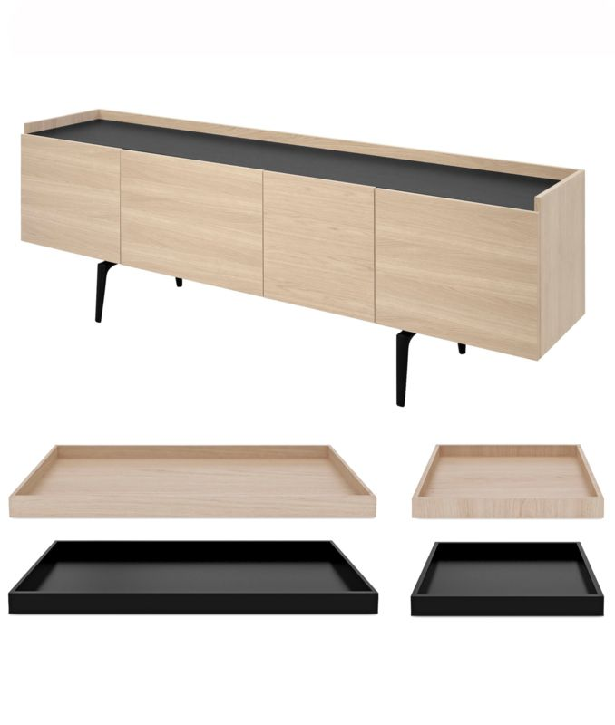 Scandinavische Möbel connect sideboard option trays scandinavisch design möbel