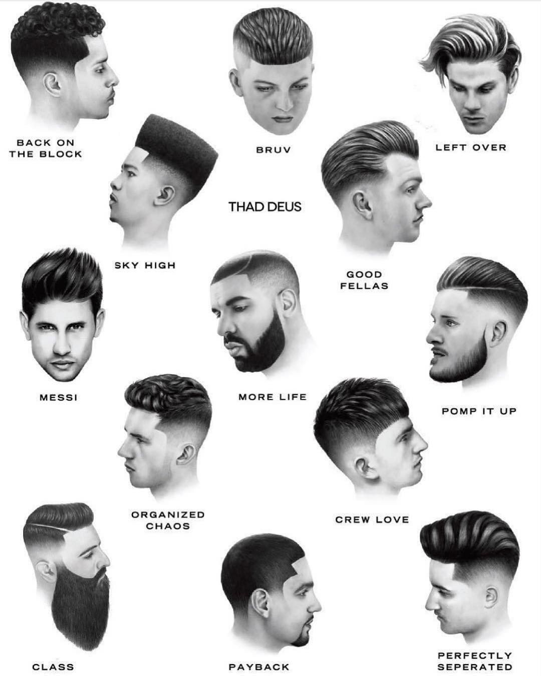 By Thad Deus 2 Steps For A Successful Barbershop 1 Create Your Own Lin Gents Hair Style Men Haircut Styles Mens Hairstyles Thick Hair