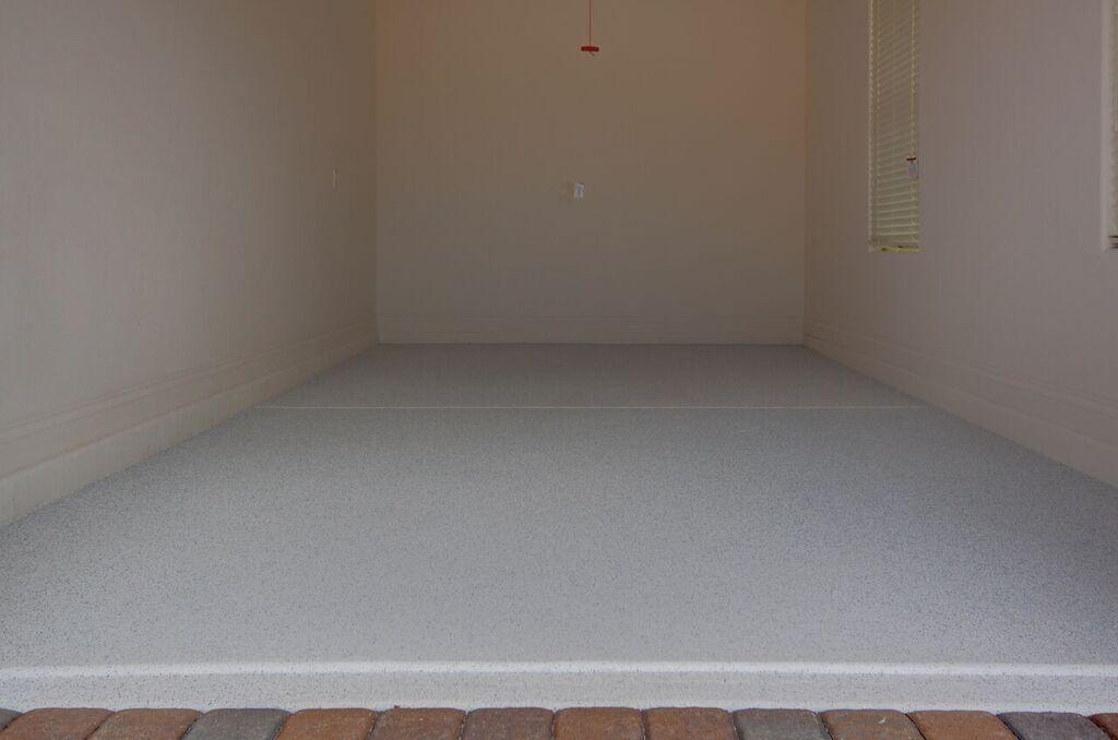 Quartz Garage Floor Coating