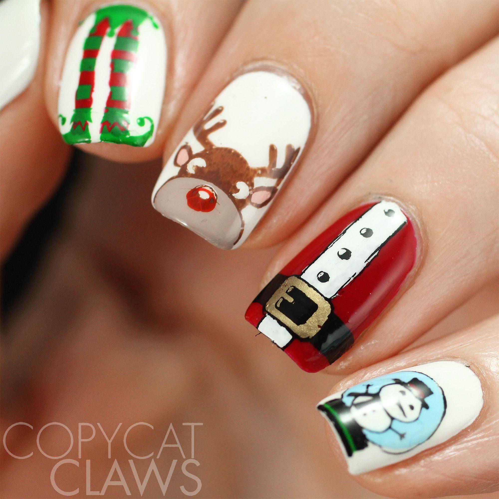 Christmas Nails That Will Impress Nailart Christmas Christmas Nails Manicure Kit Nails