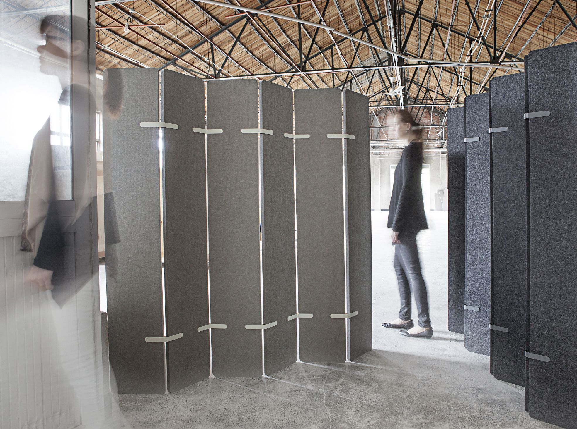Kirei echopanel geometric tiles building for health - Echopanel Paling An Environmentally Friendly Acoustic Dividing Screen Made From Pet Fibres 60