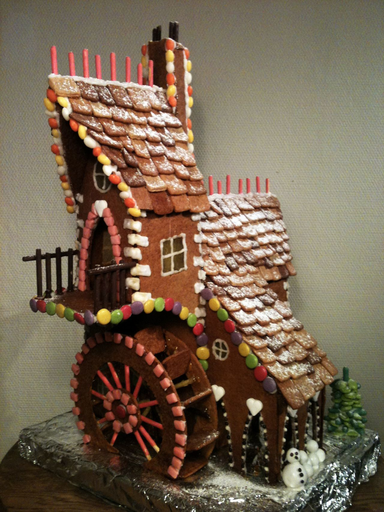 Robert Starling Gingerbread watermill, christmas 2012