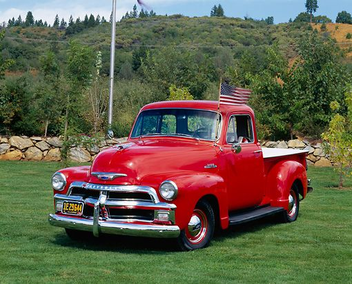 1954 Chevy Pick Up Truck 3100 Series 3 4 Ton Hello Lover 3 But