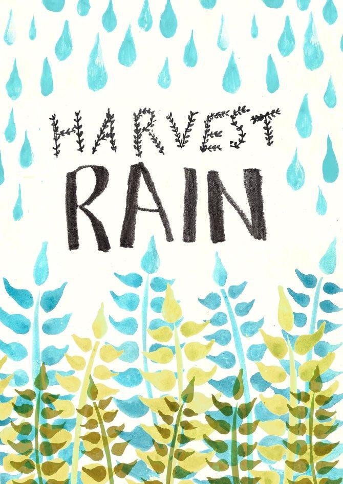 Alternative poster for the international rainwater for Rainwater harvesting quotes