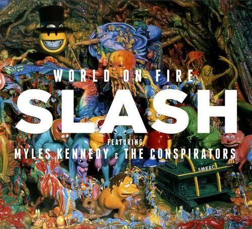 Smk C World On Fire Cover Art Sept 15 Myles Kennedy Slash Album