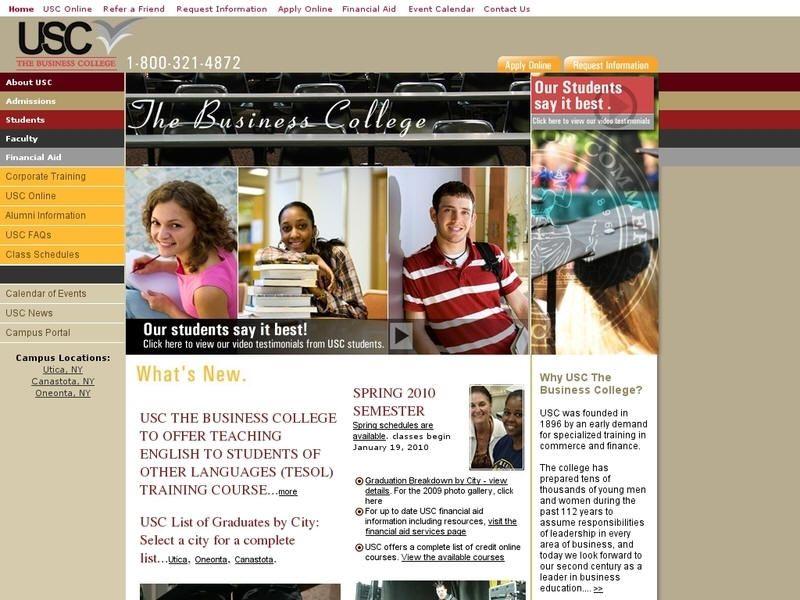 Utica School Of Commerce Oneonta Ny University List Corporate