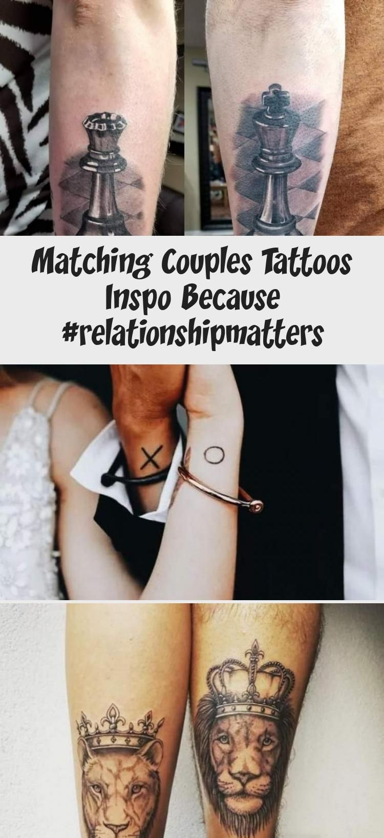 Couples Matching Tattoos for Valentines Day Rose Tattoo