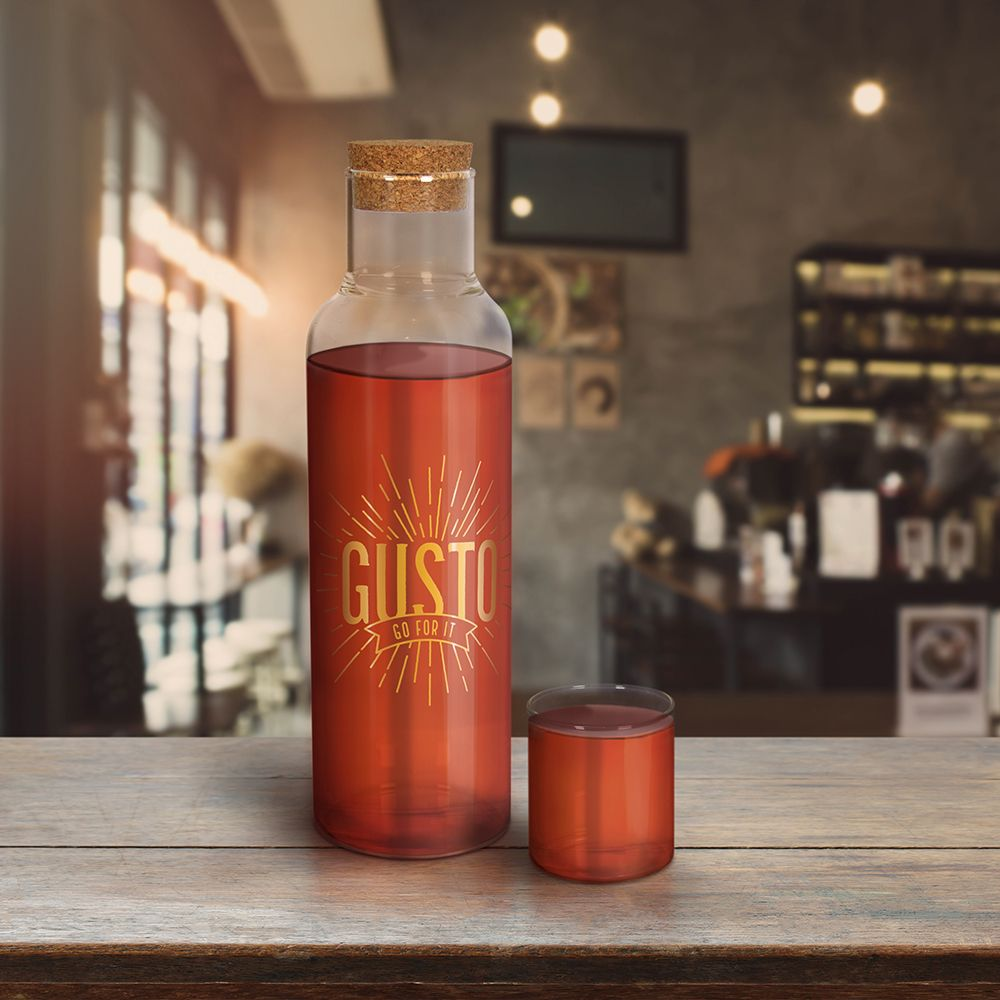Gusto Bottled Up Desktop Decanter In Creative Gifts By Fred Bottle Wine Bottle Decanter