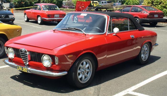 Alfa Romeo Giulia Sprint Gtc 1964 1966 Alfa Romeo Giulia Alfa Romeo Alfa Romeo Spider