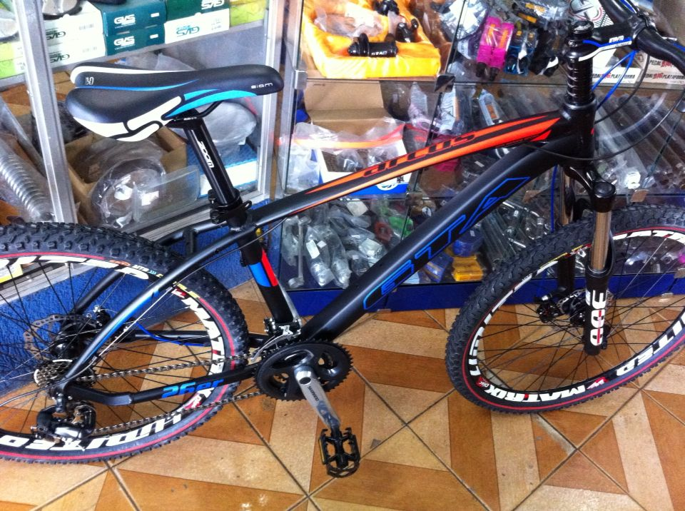 Bicicleta De Aluminio 26 Mtb Gta Arcus Bicicletas Montadas Na