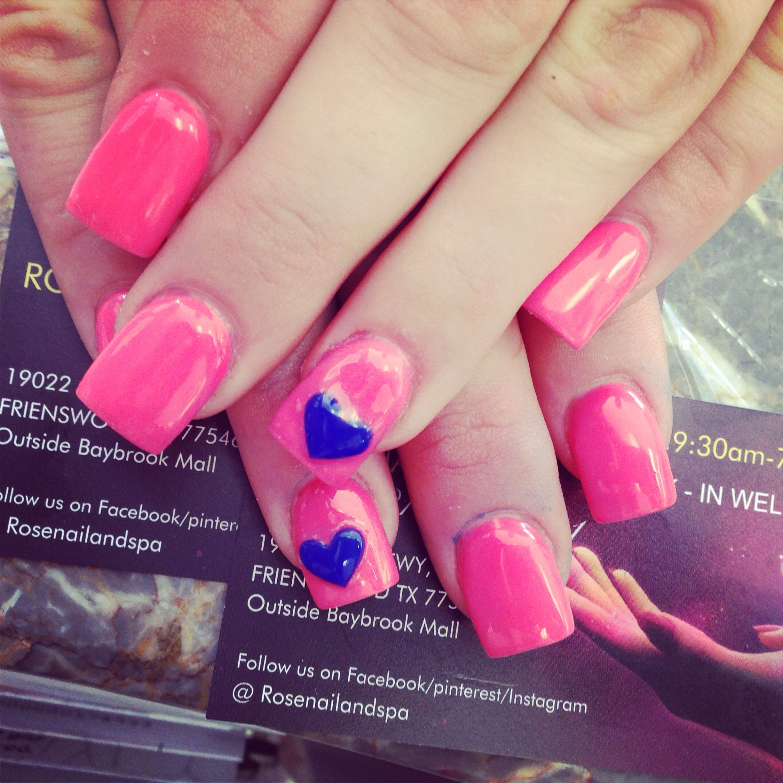 Valentine nails design !