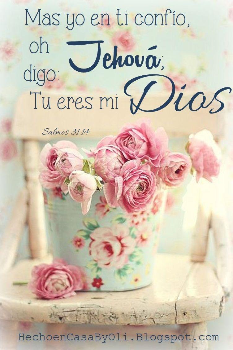 Salmos 31:14 Mas yo en ti confío, oh Jehová; Digo: Tú eres mi Dios ...