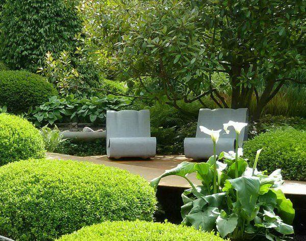 Moderne Gärten Bilder Beispiele Gartengestaltung