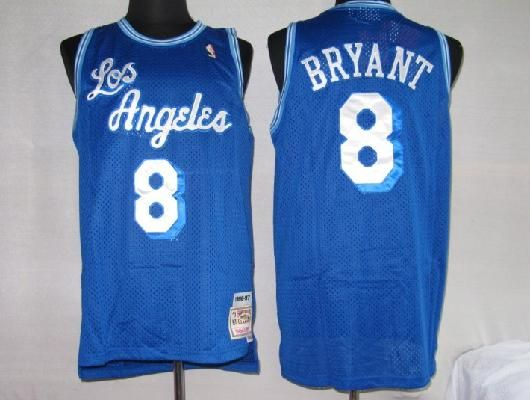 ac4058a4527 lakers blue Nike player game jersey