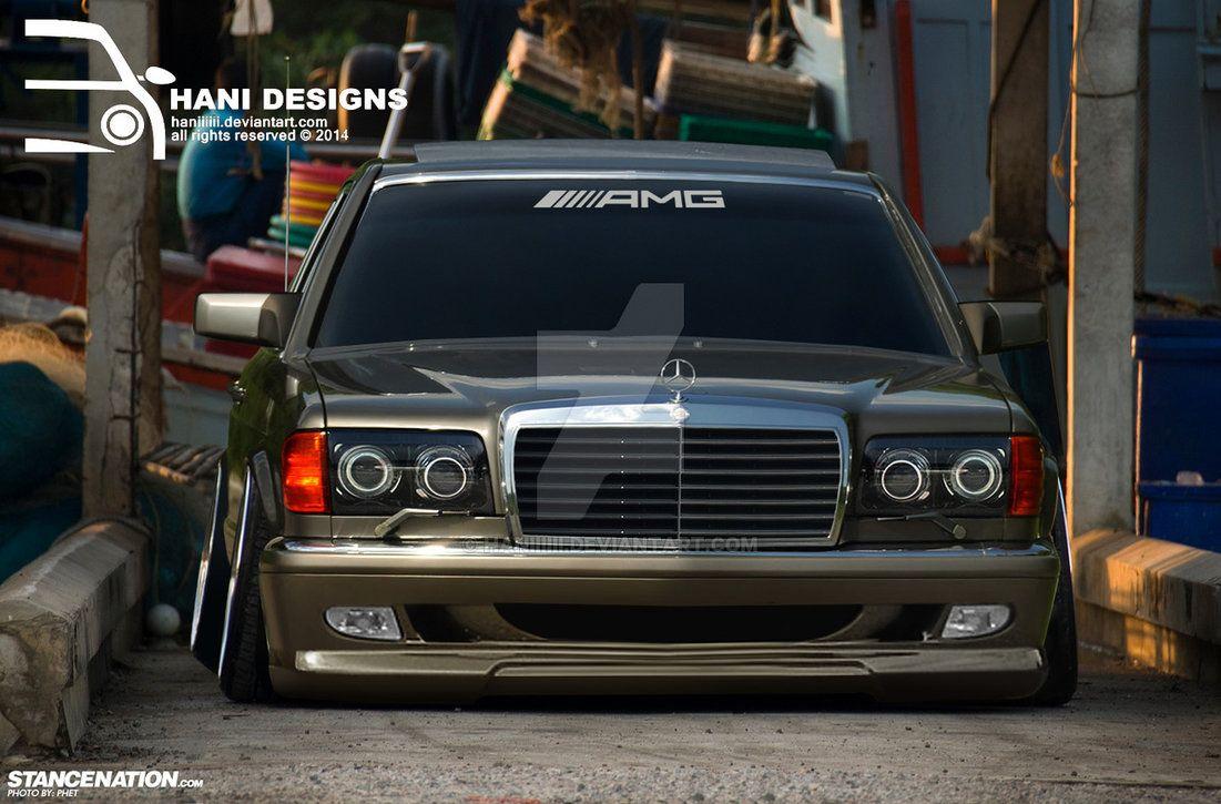 Mercedes W126 By Haniiiiii Mercedes W126 Mercedes Benz