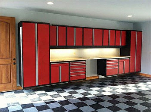 inside garage ideas |  garage cabinets calm design ideas – home