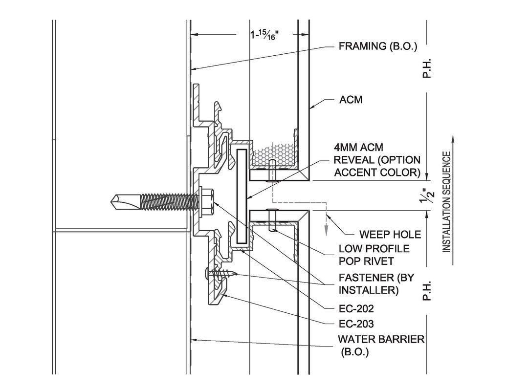 Metal Panel Attachment Details Google Search Exterior