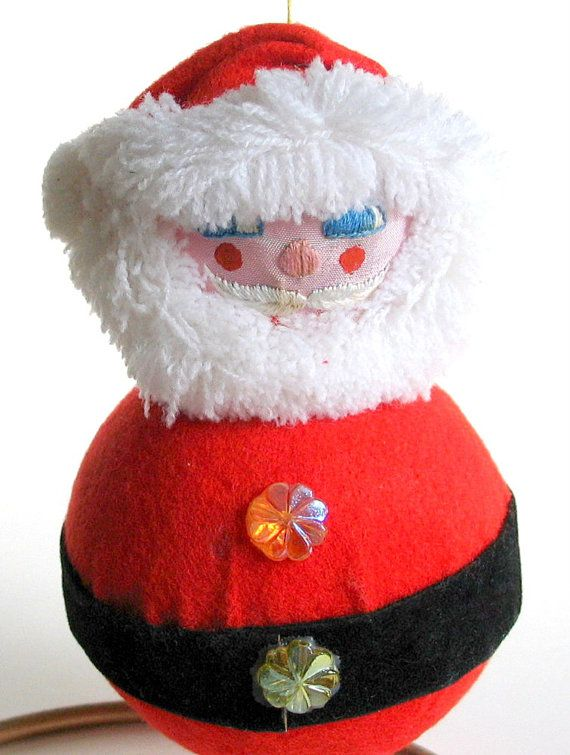 Vintage Santa Claus Christmas Ornament - Unbreakable