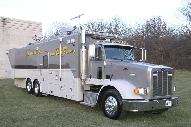 Mobile Command Centers LDV Emergency vehicles, Police