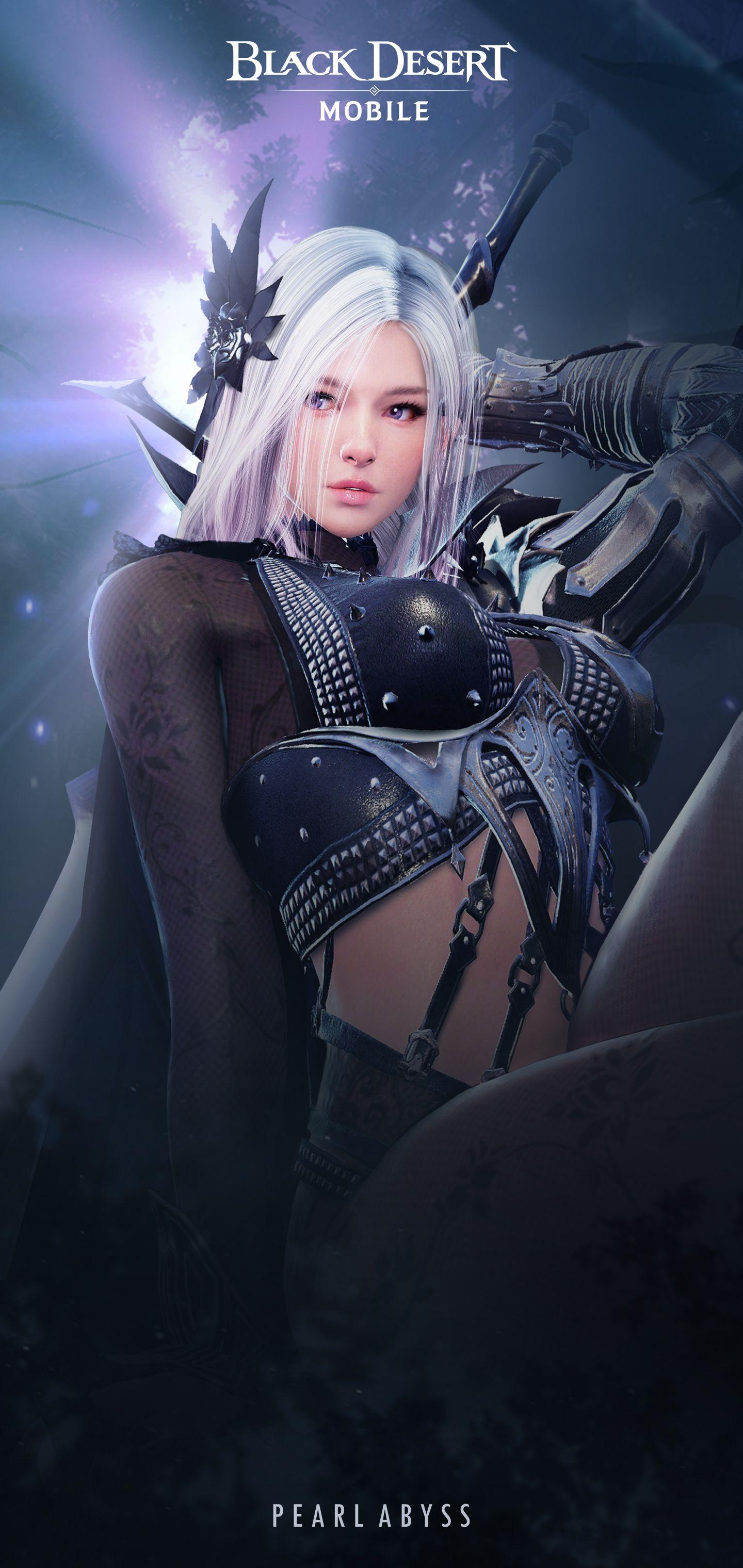 Black Desert Mobile Official Website In 2020 Resident Evil Girl Dark Knight Wallpaper Mobile Art