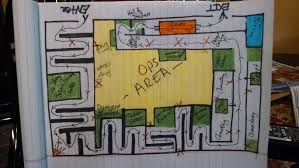 Help Does Anyone Have A Floorplan Layout Of A Haunted House Maze