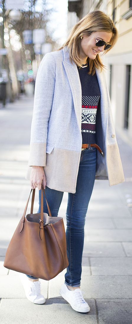 Grey-camel Coat Inspiration Outfit
