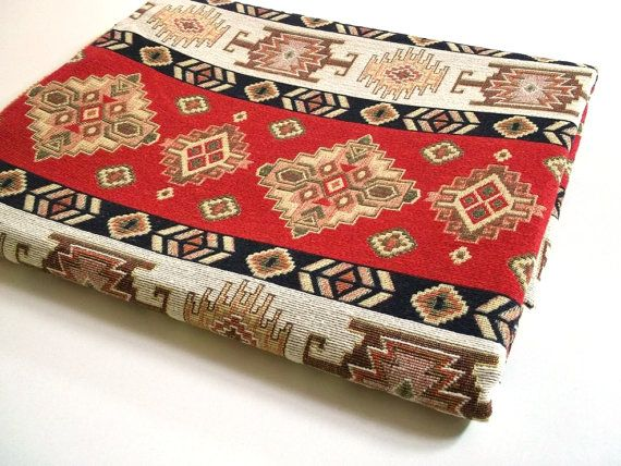 Ethnic Tribal Style Upholstery Fabric, Aztec Navajo Fabric, Geometric  Design Kilim Fabric, Red White Yellow, By The Yard/Metre, Ycp 019