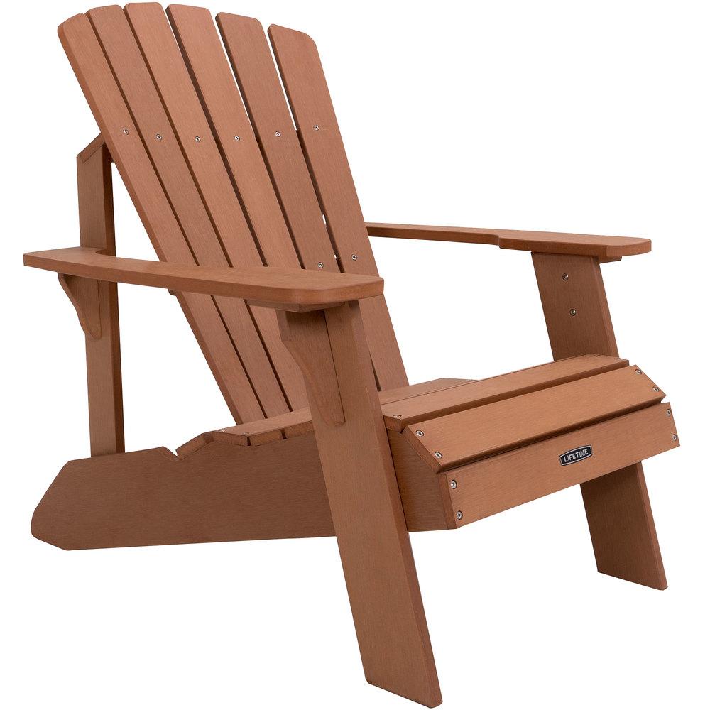 Lifetime 60064 Brown Adirondack Chair In 2021 Adirondack Chair Wood Adirondack Chairs Resin Adirondack Chairs Wooden adirondack chairs on sale