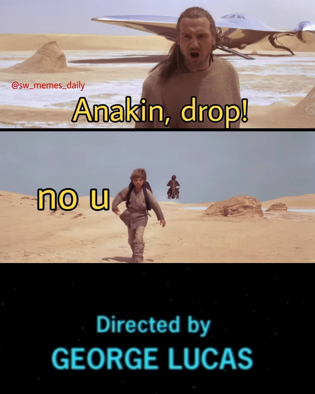 No You Star Wars Memes Selfmade 100 Dank Unfunny On The Jedi Council In The Rank Of A Master Hellothere Generalkenobi Prequel Memes Memes Star Wars Memes